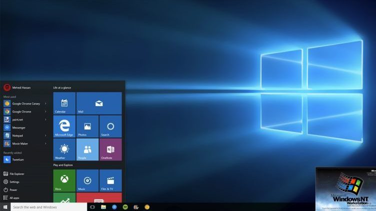 основы Windows 10