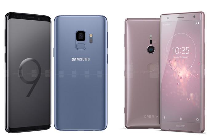 Galaxy S9 Xperia XZ2