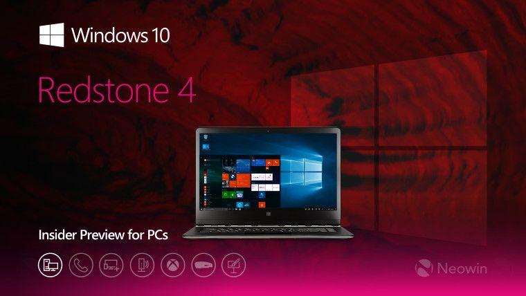 Windows 10 17127
