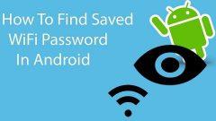 Android пароль Wi-Fi