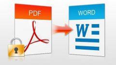 Три приложения для преобразования PDF в Word