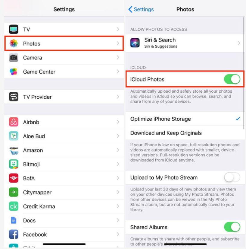 настройки iPhone XR