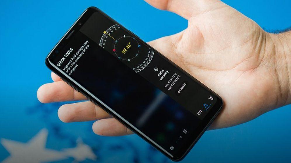 подсказки Galaxy S9