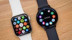 Сравнение смарт-часов Apple Watch Series 5 и Samsung Galaxy Watch Active 2