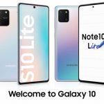 Анонсированы смартфоны Samsung Galaxy S10 Lite и Note 10 Lite: премиальная функциональность по сниженным ценам