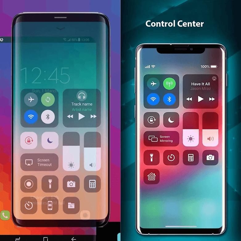 Control Center - iOS