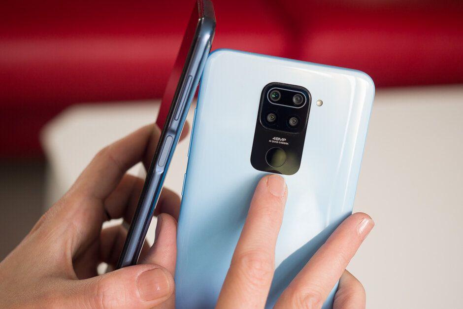 Сканер Redmi Note 9