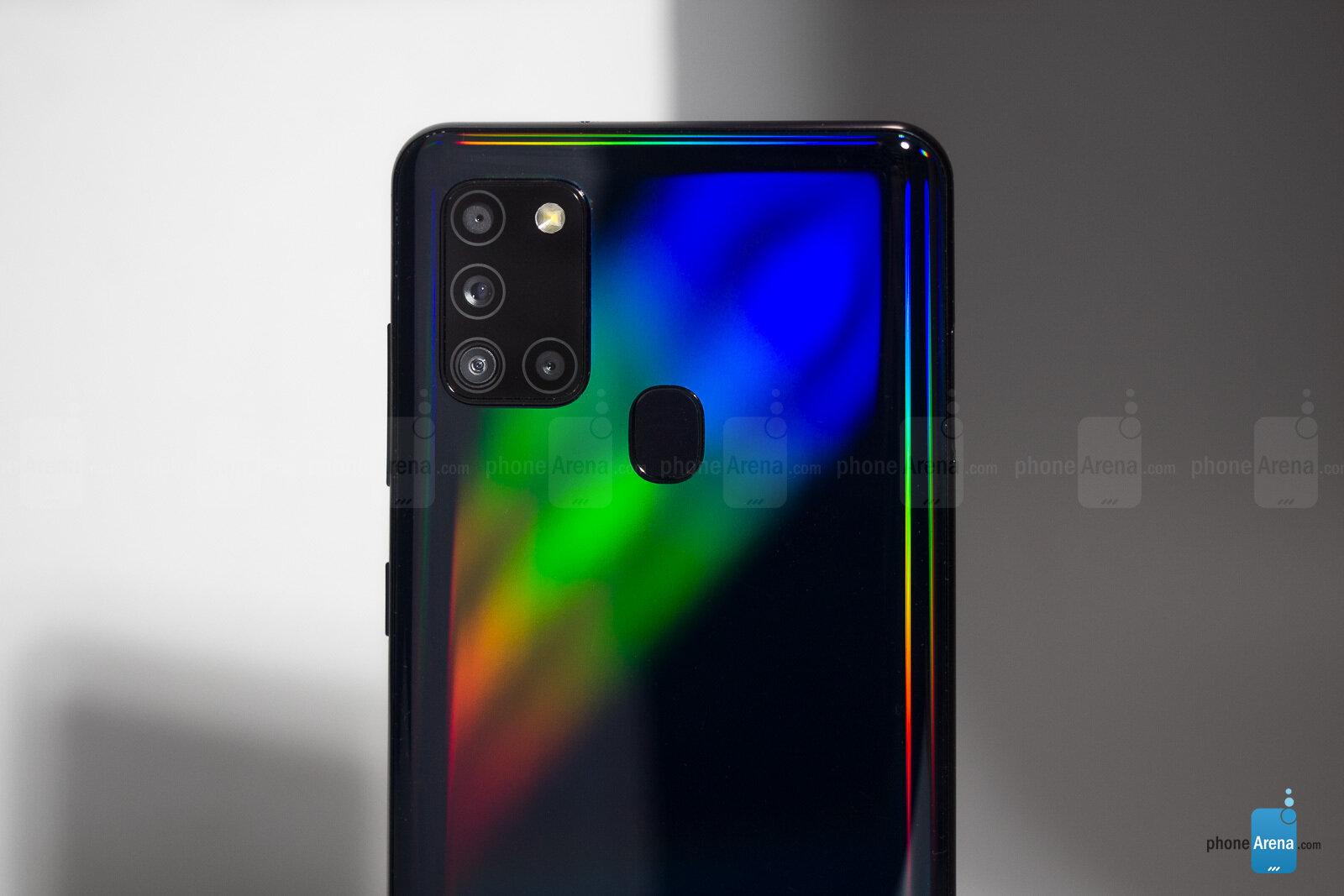 Камеры Galaxy A21s