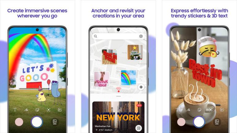 AR Canvas by Samsung